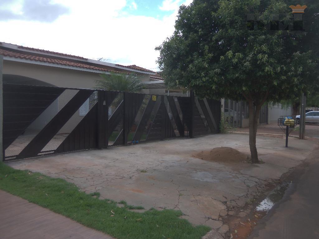 Casa  residencial para locação, Parque dos Buritis, Rio Verde.