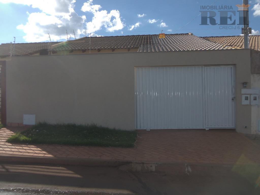 Casa residencial para locação, Residencial Canaã, Rio Verde.