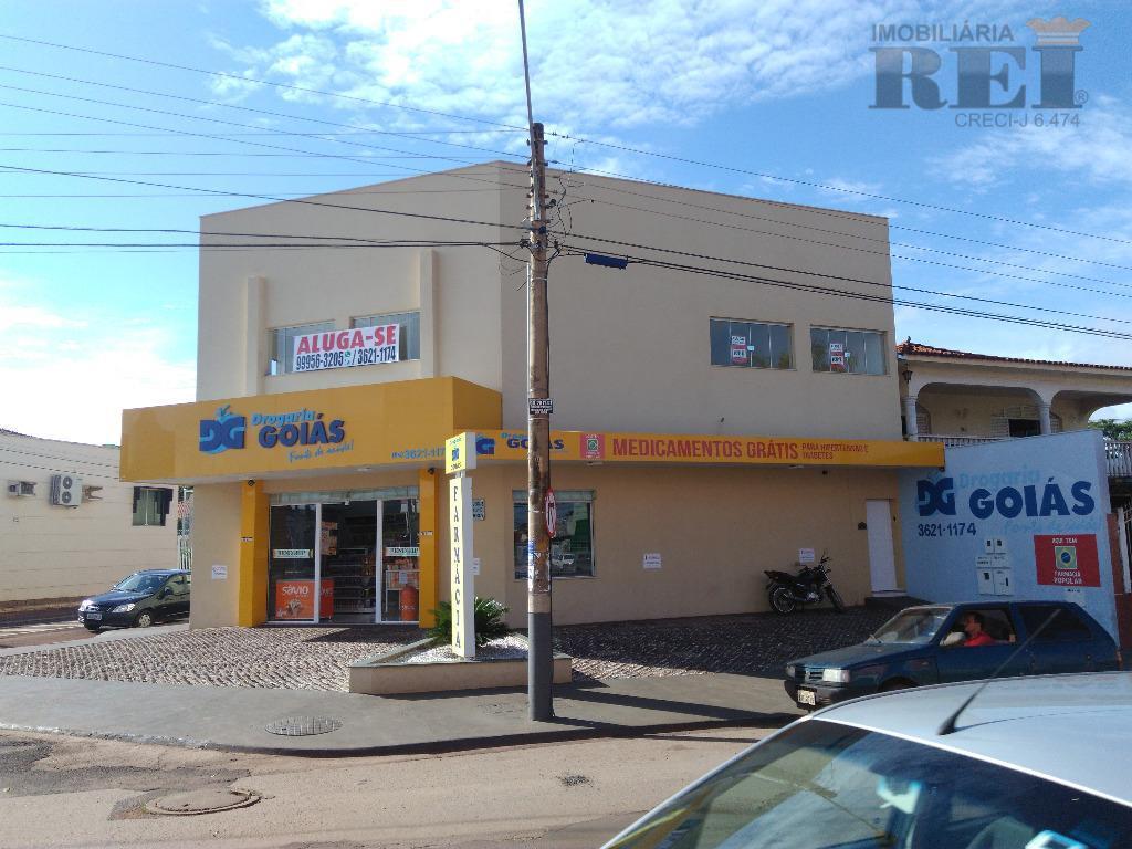Ponto comercial para locação, Vila Maria, Rio Verde.