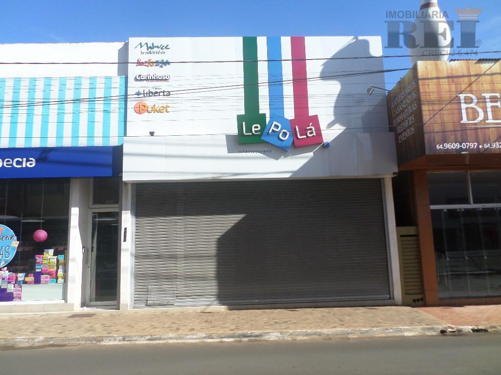 Prédio comercial para locação, Setor Central, Rio Verde.
