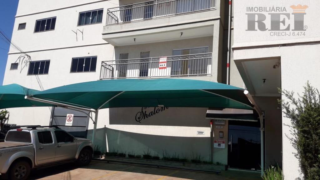 Apartamento residencial para locação, Setor Morada do Sol, Rio Verde.
