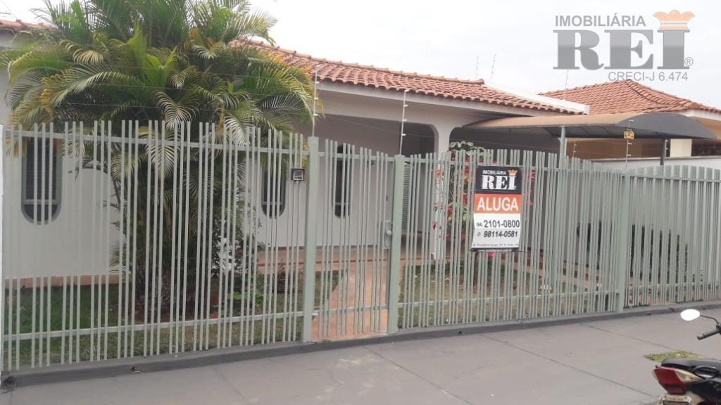 Casa residencial para locação, Vila Rocha, Rio Verde.