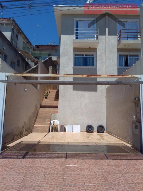 Sobrado residencial à venda, Jardim Luciana, Franco da Rocha - SO0064.