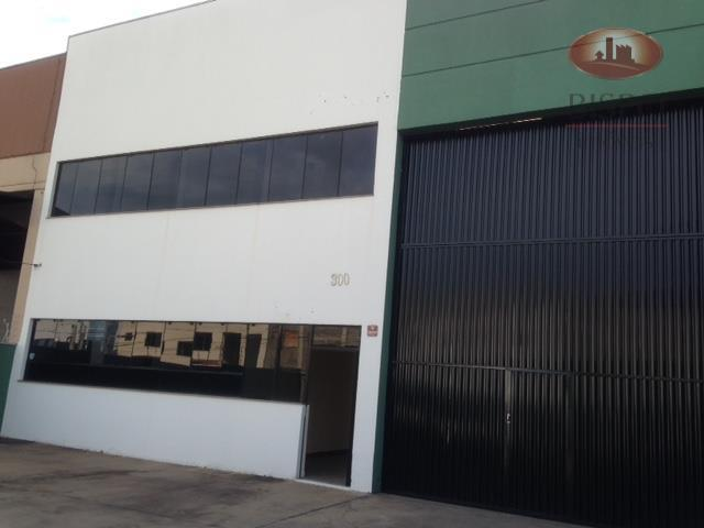 Galpão industrial à venda, Distrito Industrial I, Santa Bárbara D'Oeste - GA0062.