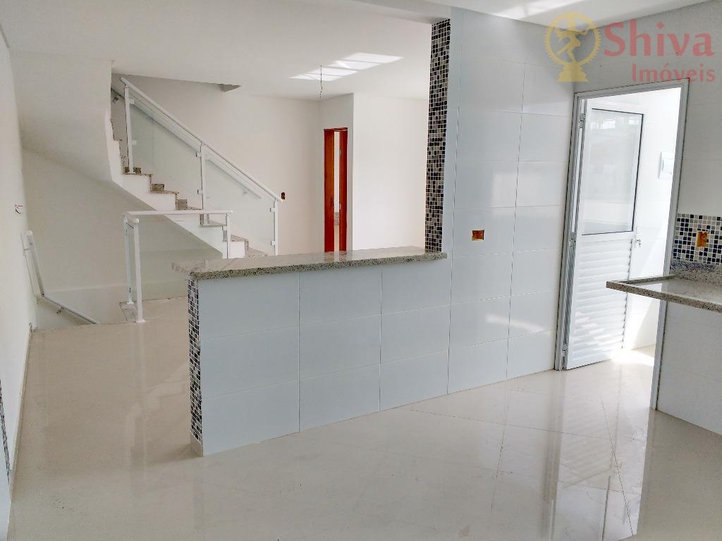 Sobrados novos, 3 quartos, 3 vagas cobertas, à venda na Penha, SP