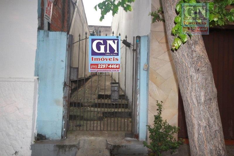 Vende-se 02 casas num terreno de 212,00 m² no Bairro do Cambuci, SP.