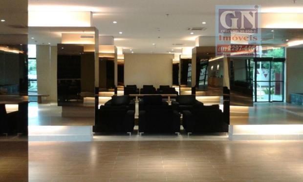 vende-se 02 (duas) salas comerciais no espaço cerâmica, 55 m² cada, 8º andar, piso elevado, forro...