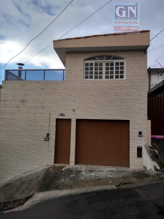 Sobrado com 4 dormitórios à venda, 166 m² por R$ 380.000 - Jardim Miriam - São Paulo/SP