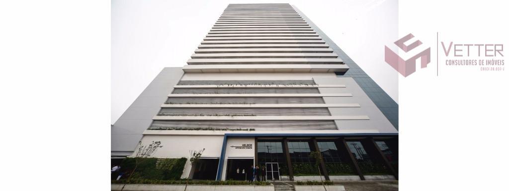 Conjunto comercial para locação, Centro, São Vicente.