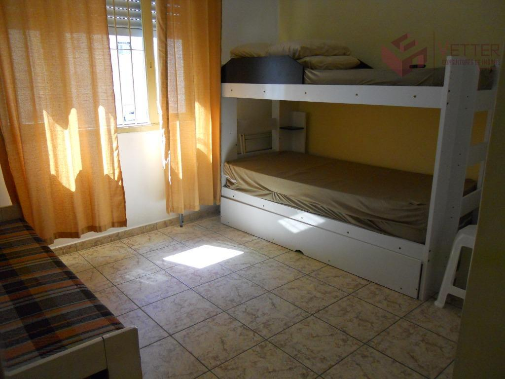 Kitnet residencial à venda, Boa Vista, São Vicente.