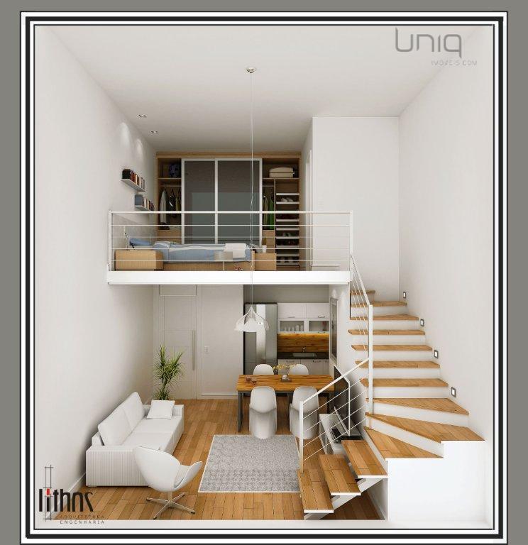 Loft de 1 dormitório à venda em Praia Da Cal, Torres - RS