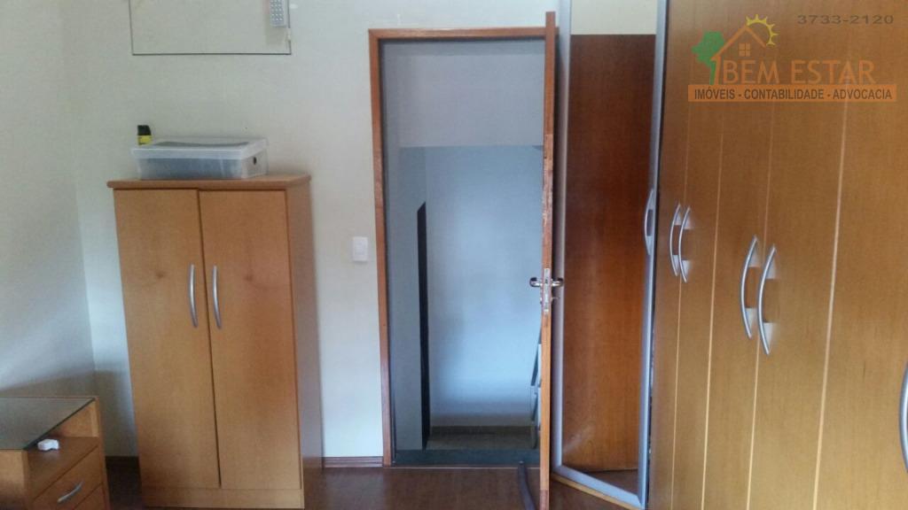 aceita permuta de imóvel de menor valor!lindíssimo sobrado com três dormitórios amplos, sendo um suite closet,...