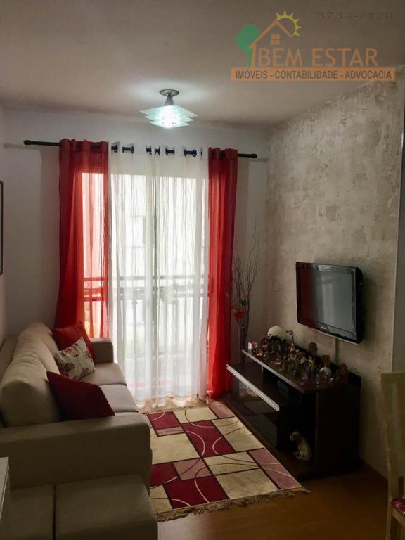 Apartamento residencial à venda, Residencial Ilhas Canárias, Bloco 06 no Jardim Sarah, São Paulo.