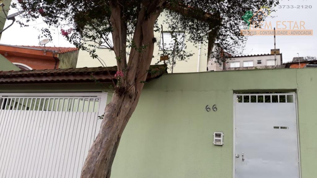 Casa com 2 dormitórios para alugar, 60 m² por R$ 1.300/mês - Vila Tiradentes - São Paulo/SP