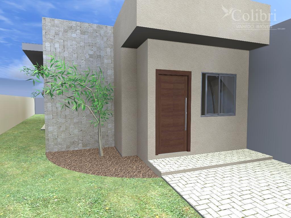 Casa Nova com Design Moderno - São José - Vinhedo