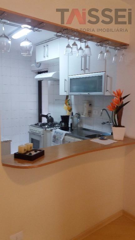 Apartamento residencial à venda, Saúde, cozinha americana