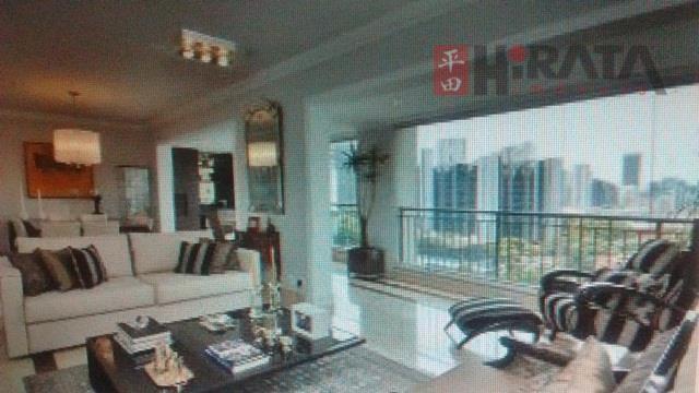 Privilege Brooklin - Excelente apartamento para locação 168 m2 - 4 Dormitórios, 3 suítes - 3 vagas