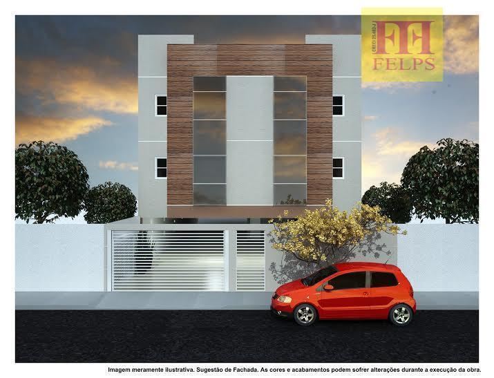 Parque Novo Oratório, s/Condomínio e Coberturas c/2 quartos, suite, sala, cozinha, 1 vaga de garagem