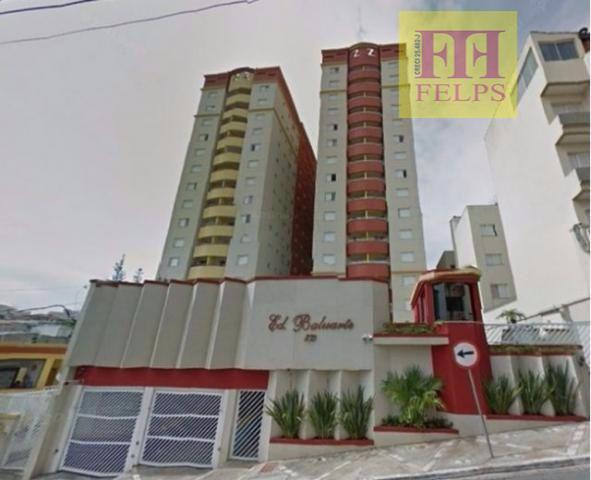 Apto, Bairro Oswaldo Cruz, 2 dorms, suite, móveis planejados,1 vaga, de garagem, lazer completo