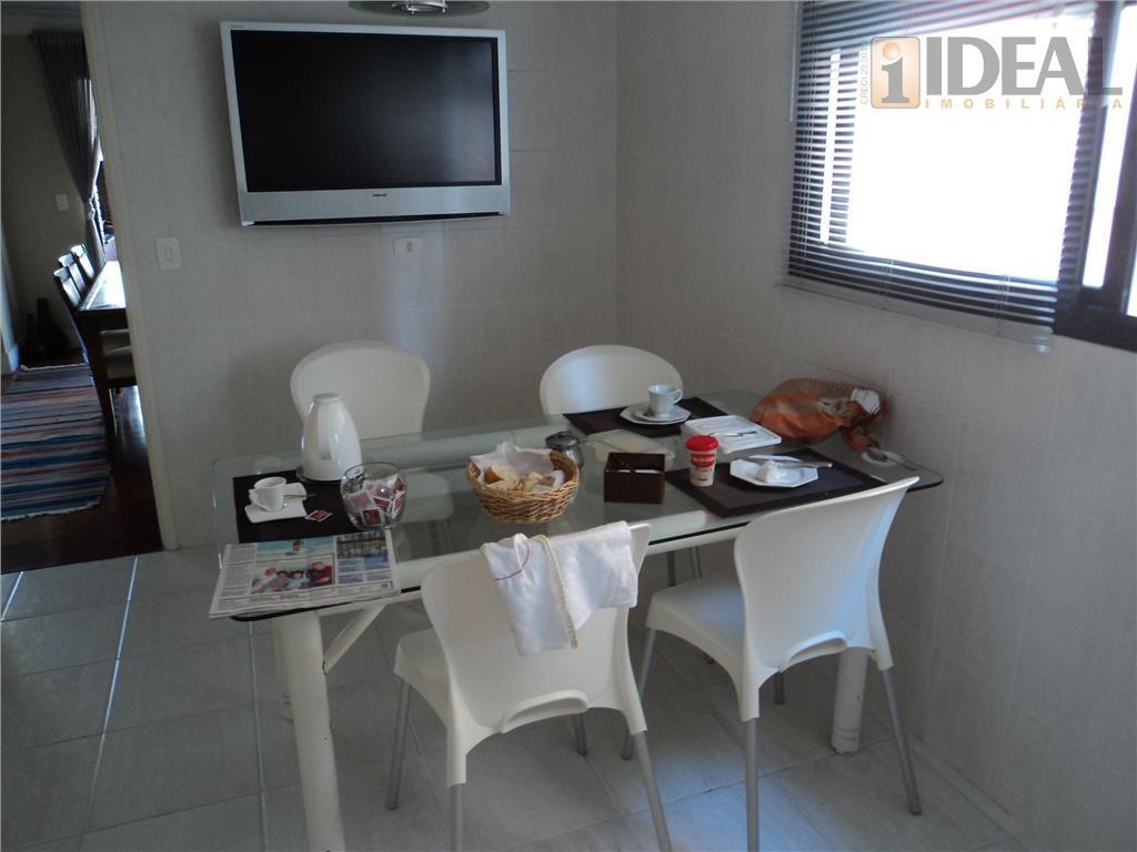 apartamento com 4 dormitórios, 3 suites, closet,sala para 3 ambientes, sala íntima,cozinha planejada,dependência completa de empregada...