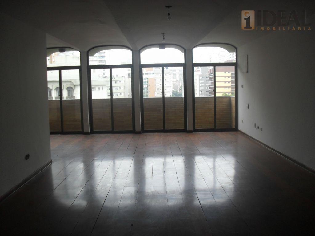 Apartamento  residencial para venda e locação, Boqueirão, Santos.