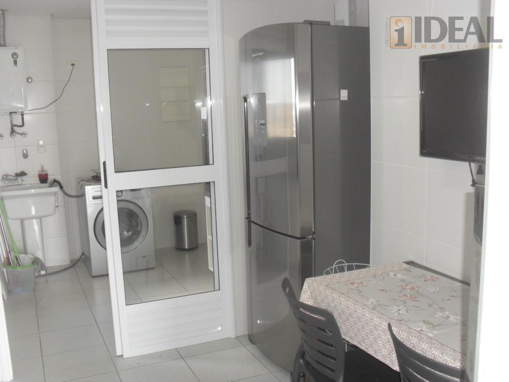 excelente apartamento todo em porcelanato, rico em armarios, eletrodomes-tico e eletronico com splinte na sala e...