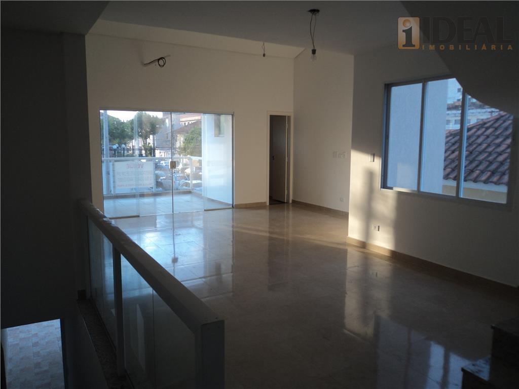 Casa  residencial à venda, Macuco, Santos.