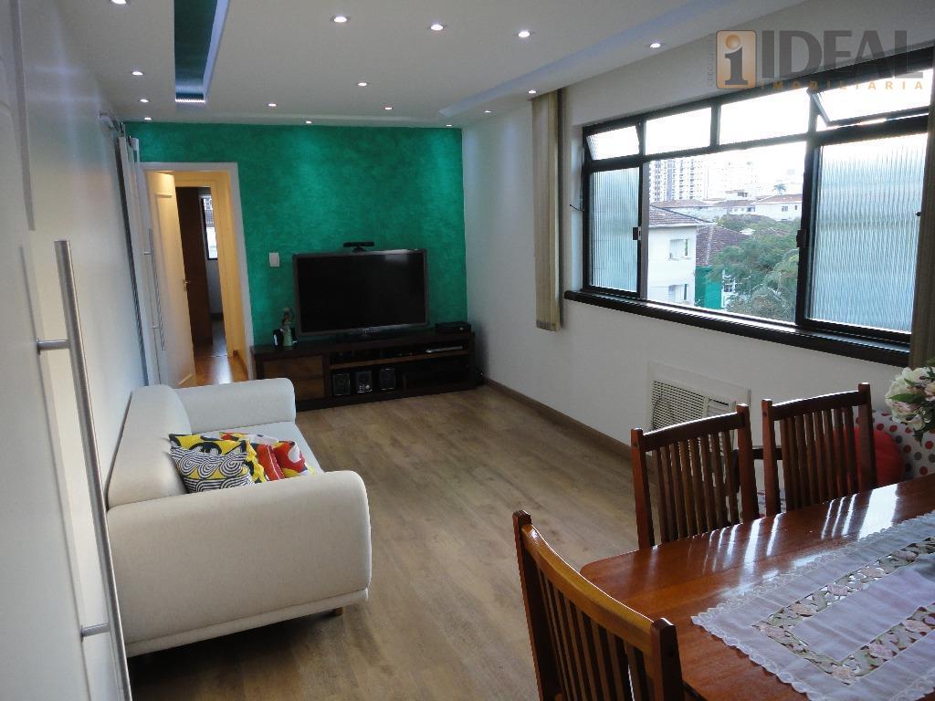 Apartamento residencial à venda, Embaré, Santos - AP0903.