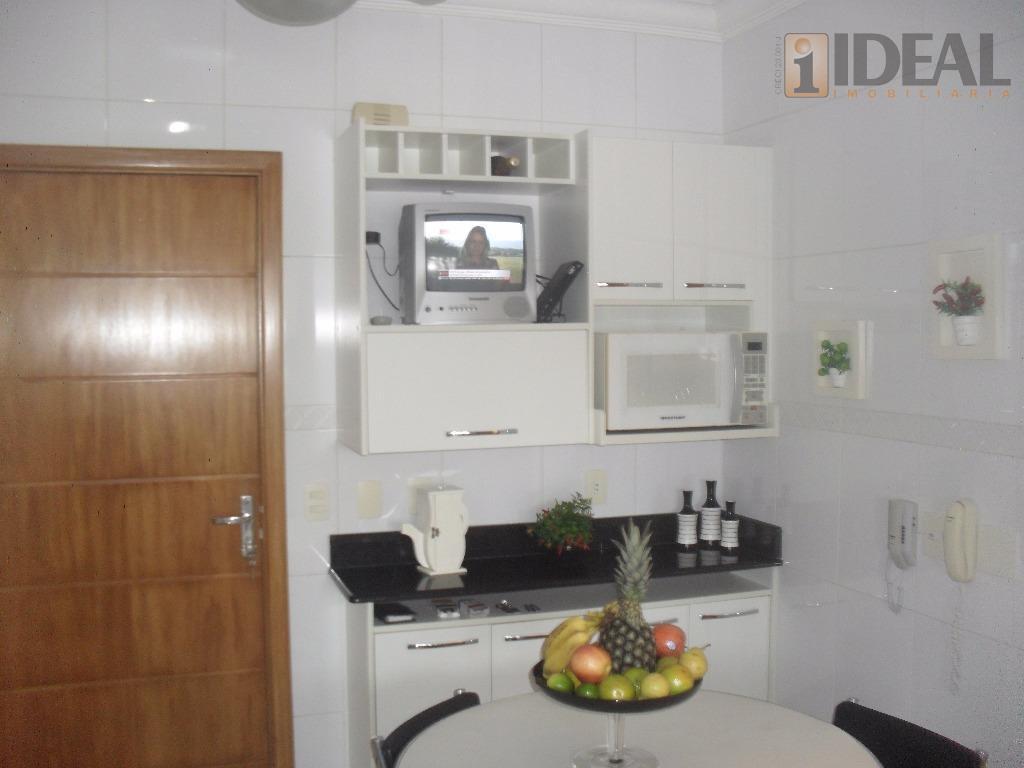 apartamento de 3 dormitórios, sendo 1 c/suíte, dependência de empregada reversível, feito escritório, sala p/a 2...