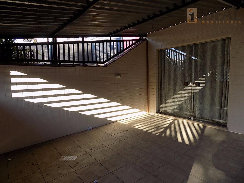Sobrado  residencial à venda, Vila Belmiro, Santos.