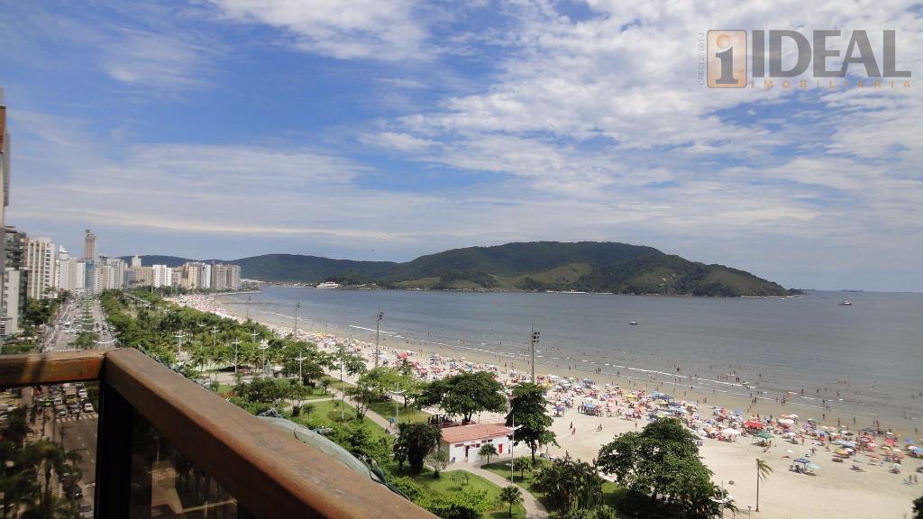 Alto Padrão, Frente ao Mar na Aparecida em Santos/SP
