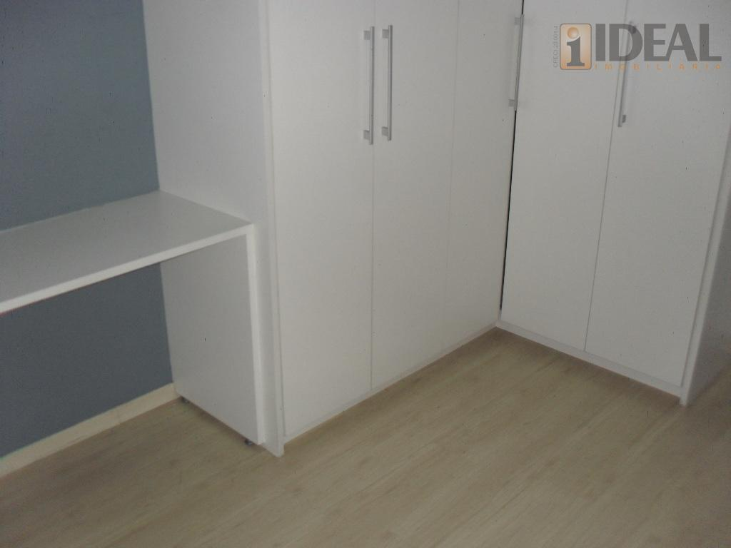 - vazio, 2 entradas- 4 dormitorios sendo 3 suítes, piso carpete laminado, armários planejados.- wc suítes,...