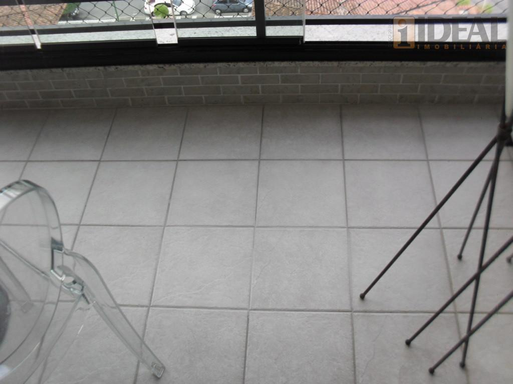 lindissímo-3 dorms/2 suítes(1 americana)-2 gars independentes!área útil: 122,74m²- sala em granito para 2 ambientes com varanda...