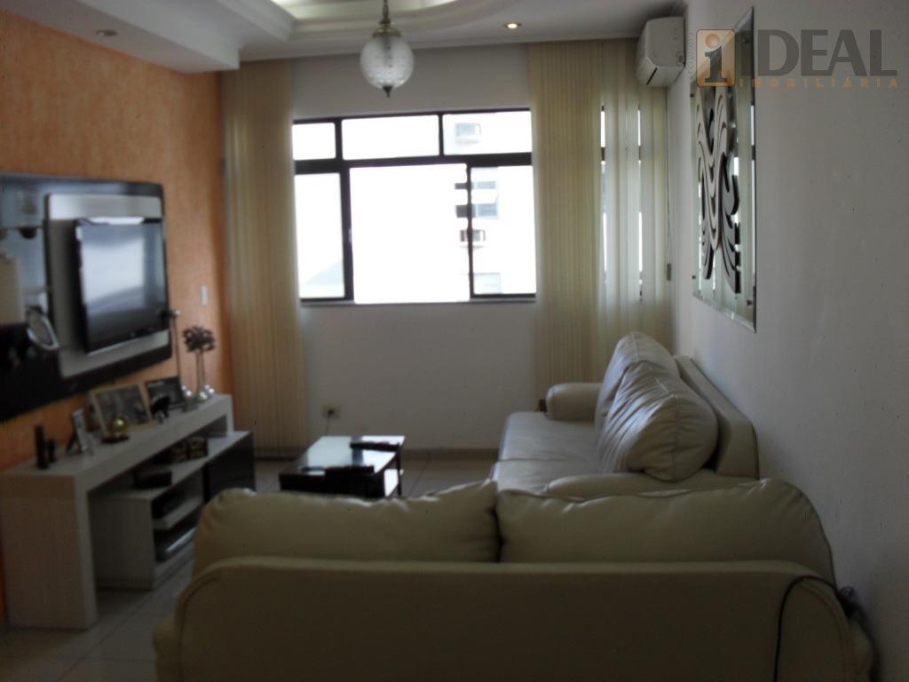 Apartamento Amplo 1qda da praia-2 gars Boqueirão