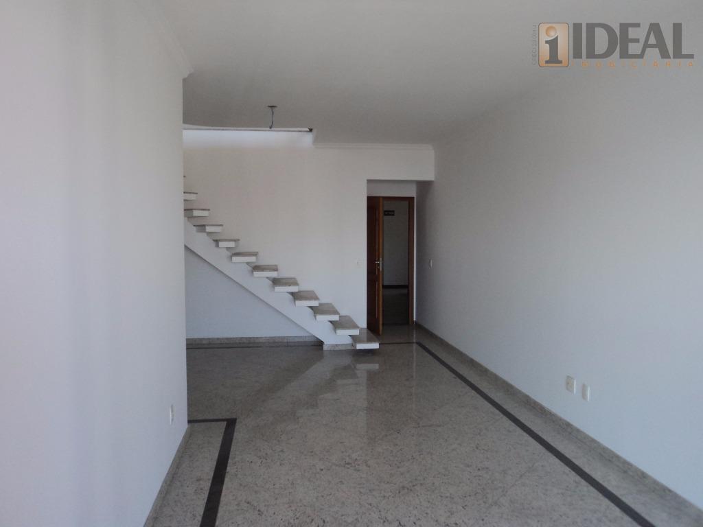 cobertura nova duplex / pisc/embaré jto praiaá.útil 280m2á.total 480m2cond 1.400,00-1°piso:-3suítes amplas-sala para 3 ambientes com terraço...