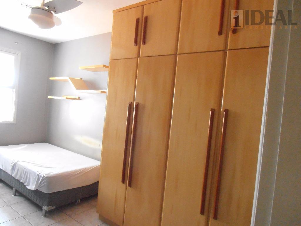 ocasião: 2 dorm. de frente, 1 suite, mobiliado, dep. revertida, lavabo, salão de festas, solarium com...