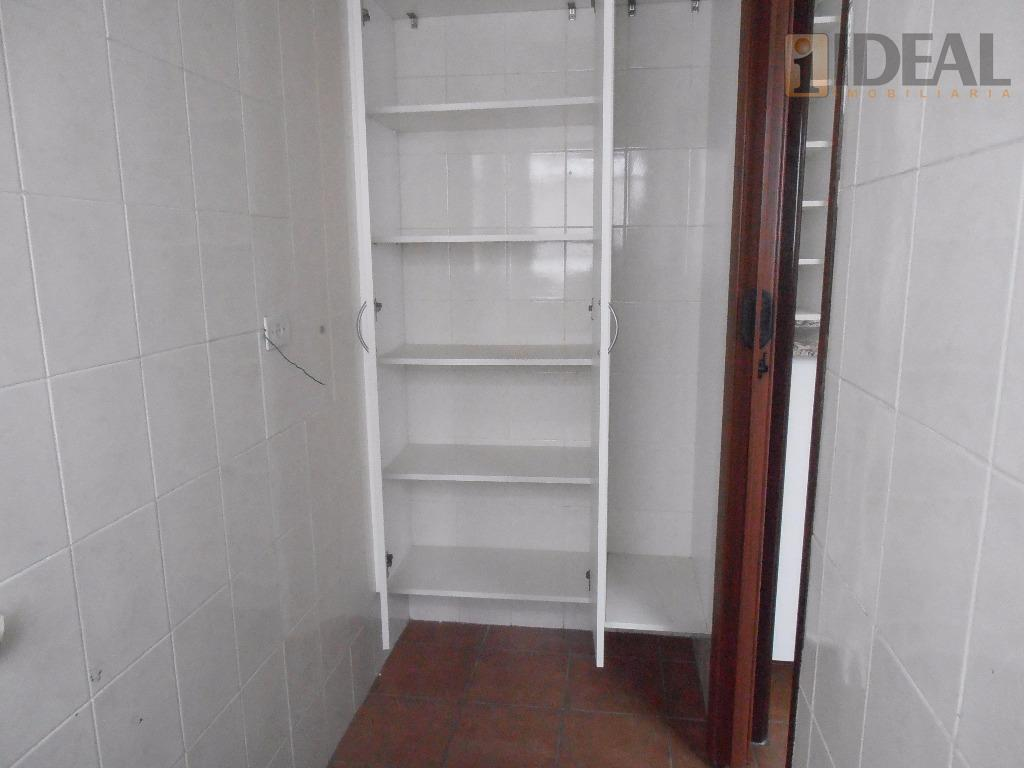 apartamento 2 dormitórios, sendo 1 suite, garagem fechada, na aparecida, em santos/sp.