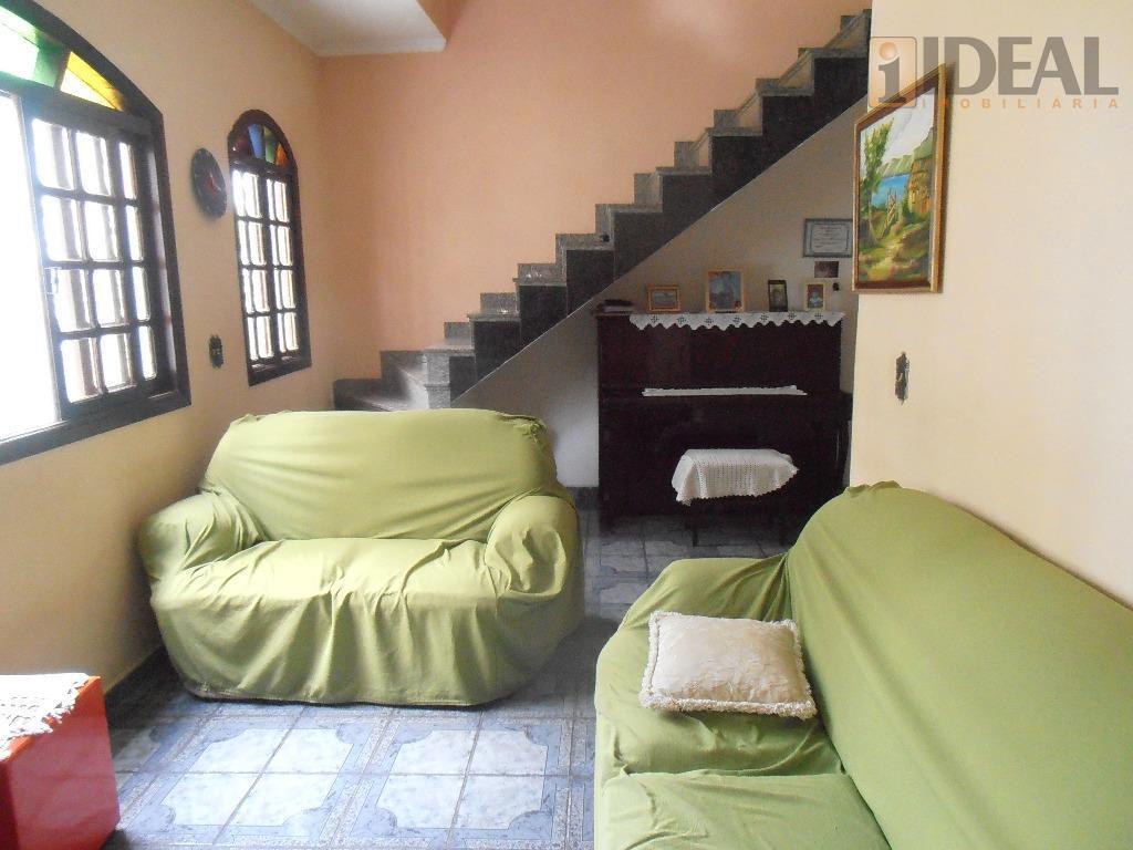 Sobrado residencial à venda, Ponta da Praia, Santos.