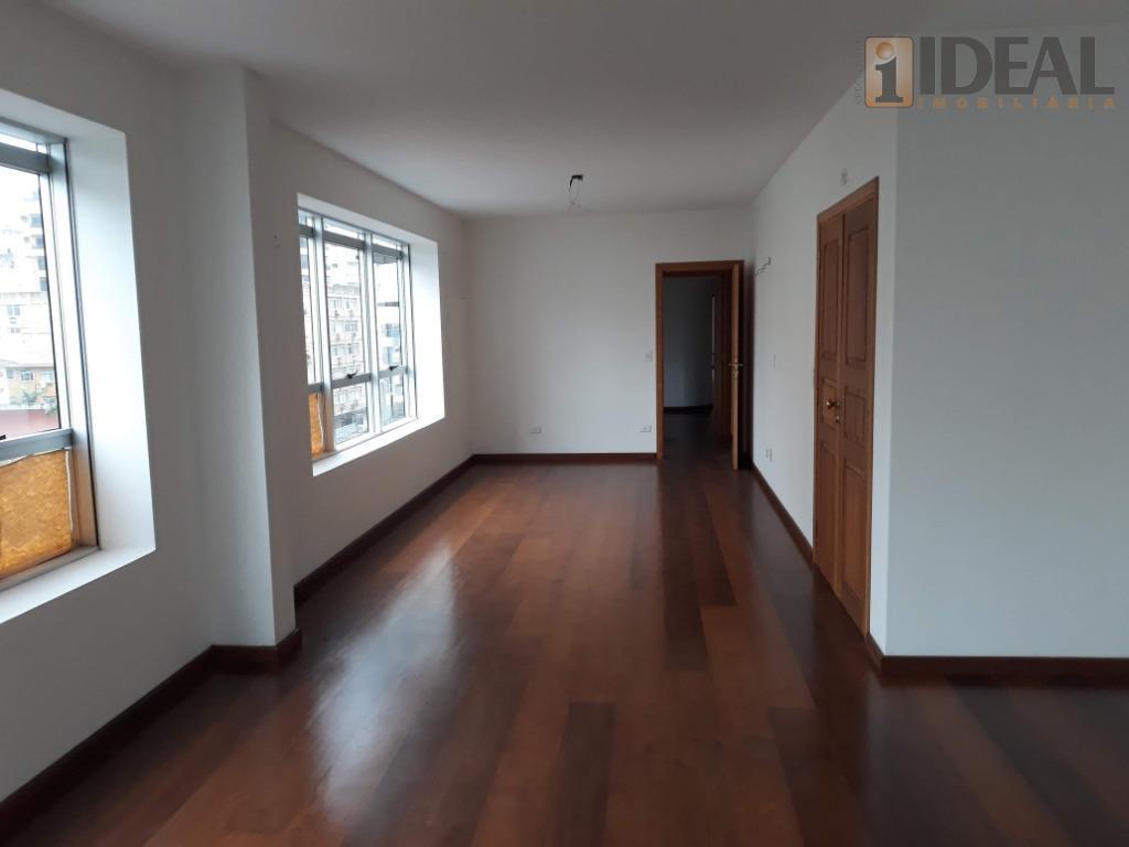Apartamento  residencial à venda, Boqueirão, Santos, Luxo, Vazio.