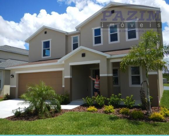 Linda Casa à venda, ORLANDO, Florida, EUA. Casa fica a 15 min dos Parques da Disney.