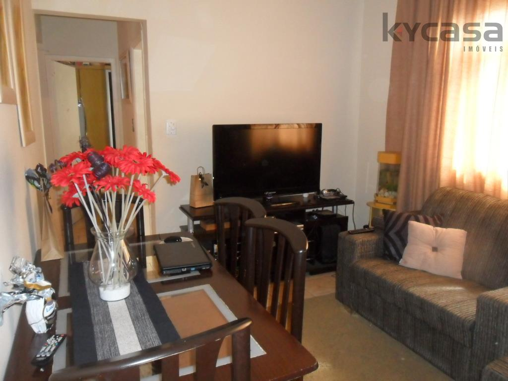 Apartamento residencial à venda, Aparecida, Santos.