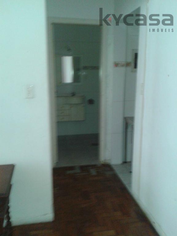 Apartamento residencial para locação, Aparecida, Santos.