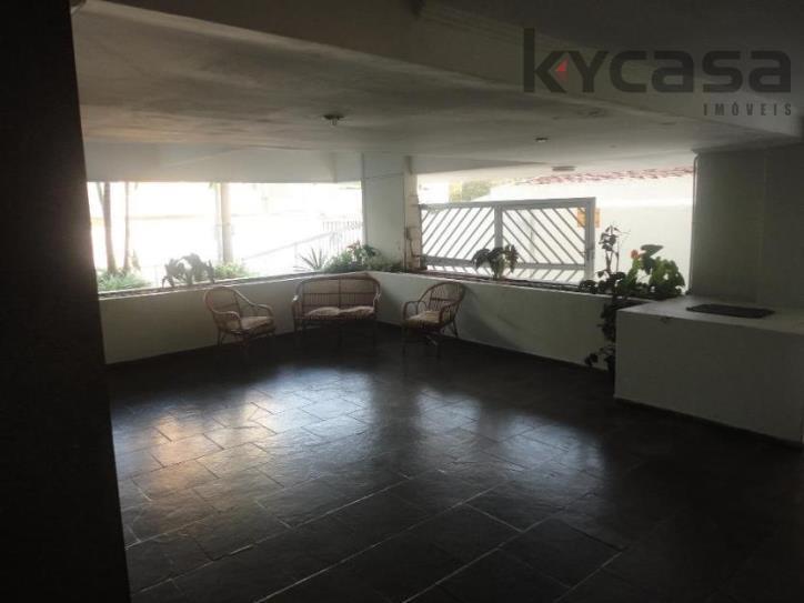 Apartamento residencial à venda, Marapé, Santos.