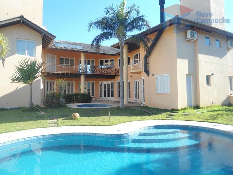 Casa no Porto da Lagoa Mansão em condomínio fechado