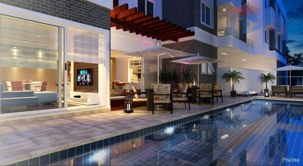 Cobertura com 3 dormitórios à venda, 119 m² por R$ 962.561 - Campeche - Florianópolis/SC
