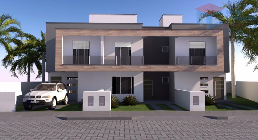 casa no rio tavares financiável.linda residência geminada com 2 pavimentos, sendo no pavimento superior 3 dormitórios,...