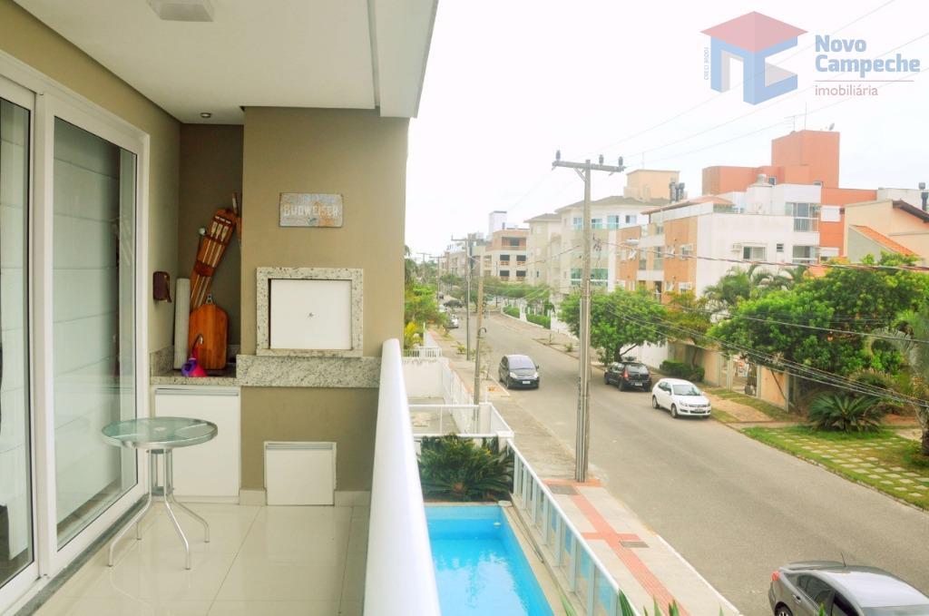 Apartamento com 3 dormitórios à venda, 154 m² por R$ 1.290.000 - Novo Campeche - Florianópolis/SC