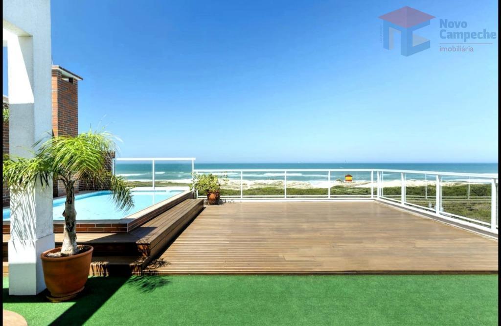 Cobertura com 4 dormitórios à venda, 241 m² por R$ 2.580.000 - Campeche - Florianópolis/SC