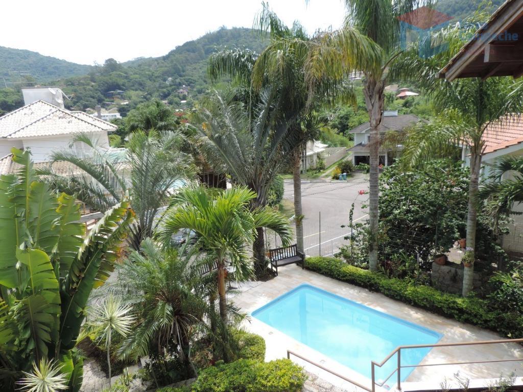 Casa com 4 dormitórios à venda, 410 m² por R$ 2.320.000 - Lagoa da Conceição - Florianópolis/SC