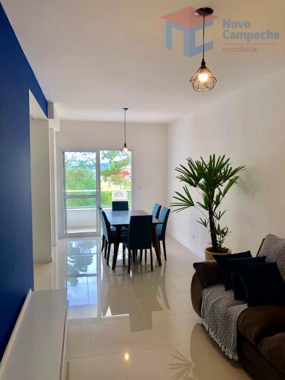 Apartamento com 2 dormitórios à venda, 69 m² por R$ 565.000 - Campeche - Florianópolis/SC